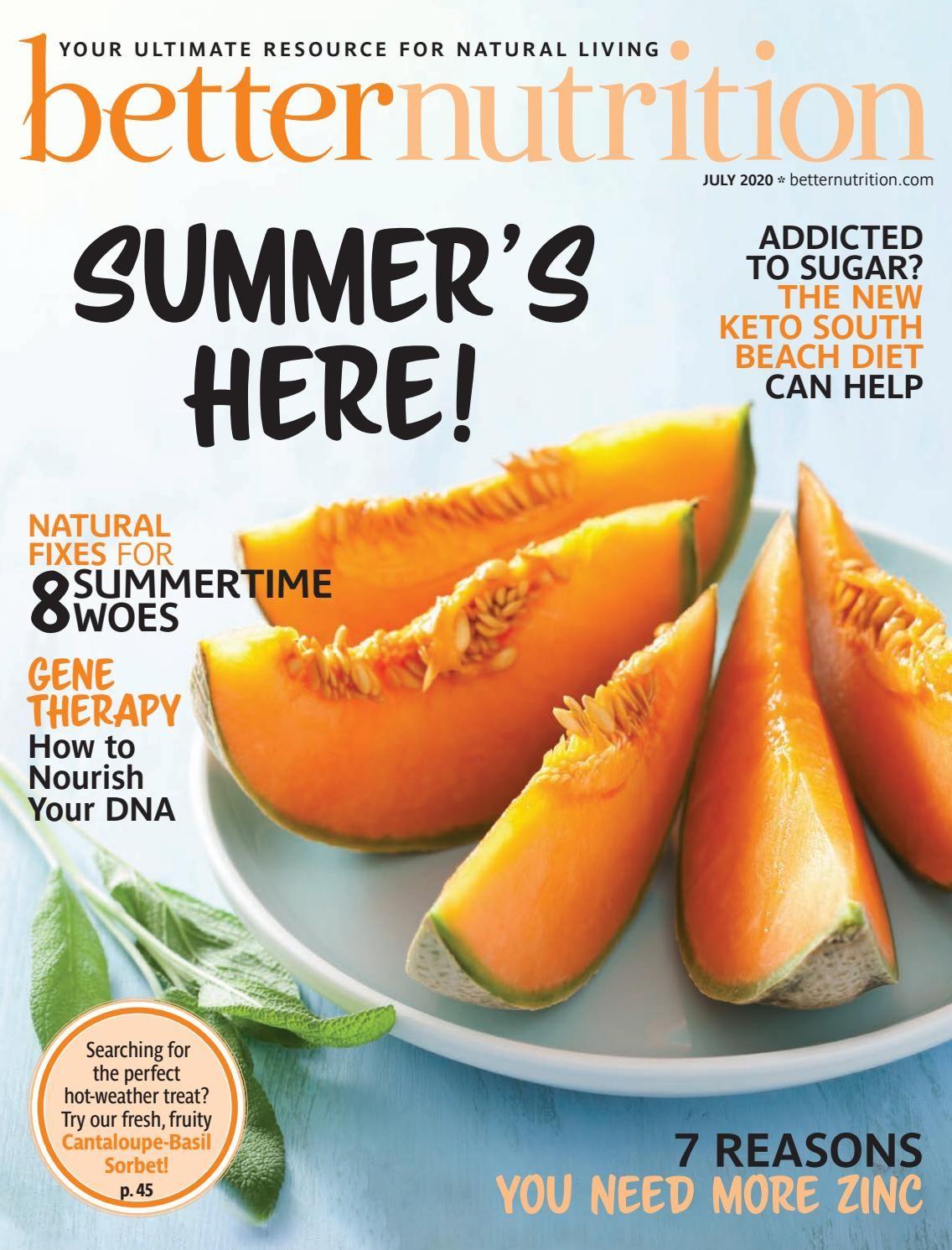 magazine cover south beach diet