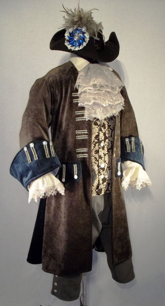 Pirate Jacket Cosplay Halloween Costume Wedding Groom Best Man Historical #halloweencostumesformen