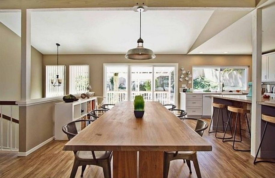 kitchen island dining table combo - Google Search (met ...