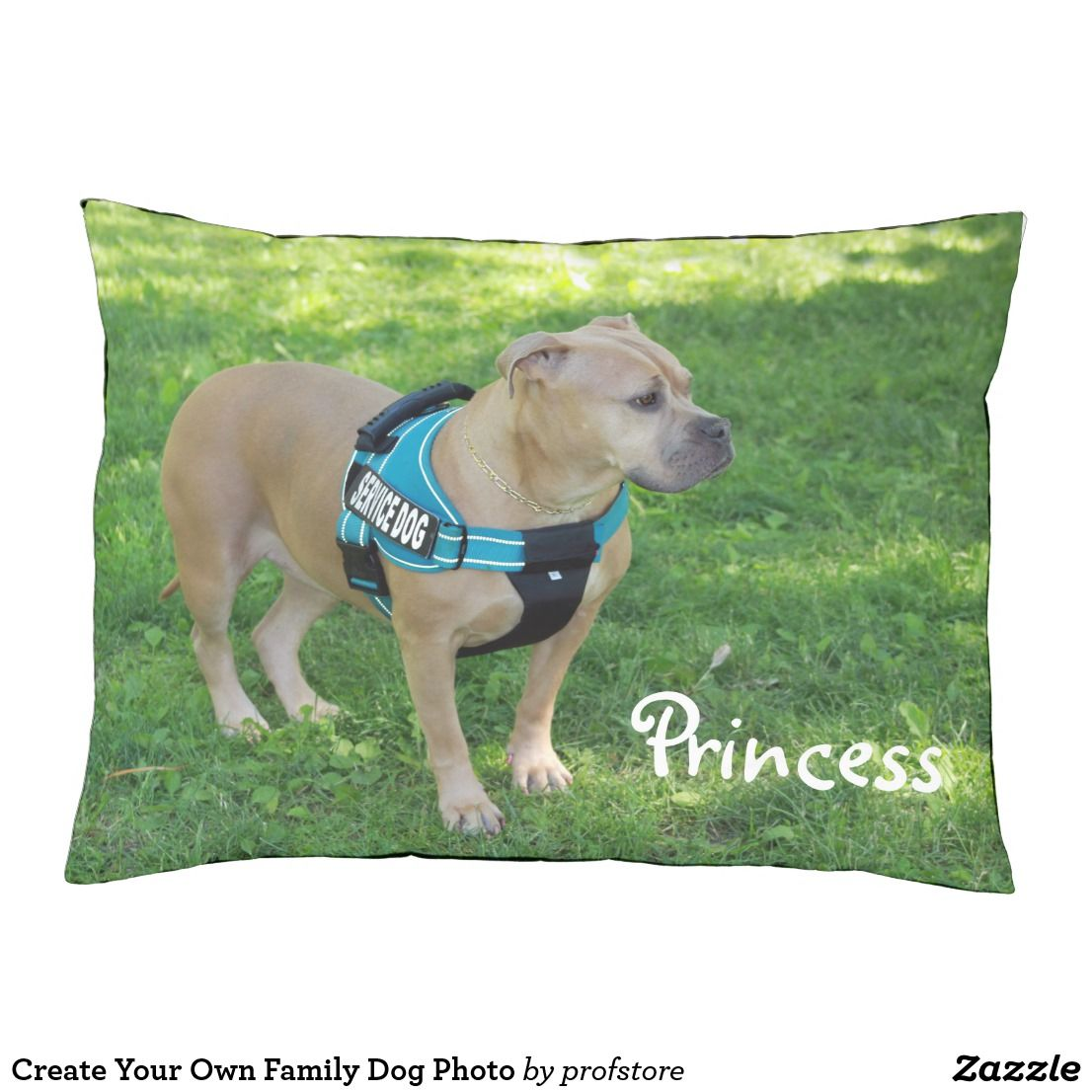 Design Your Own Exterior: Create Your Own Family Dog Photo Pet Bed