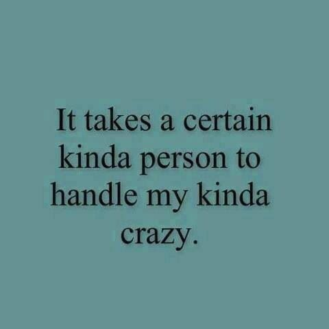 Handle My Crazy Funny Quotes Quotes Words