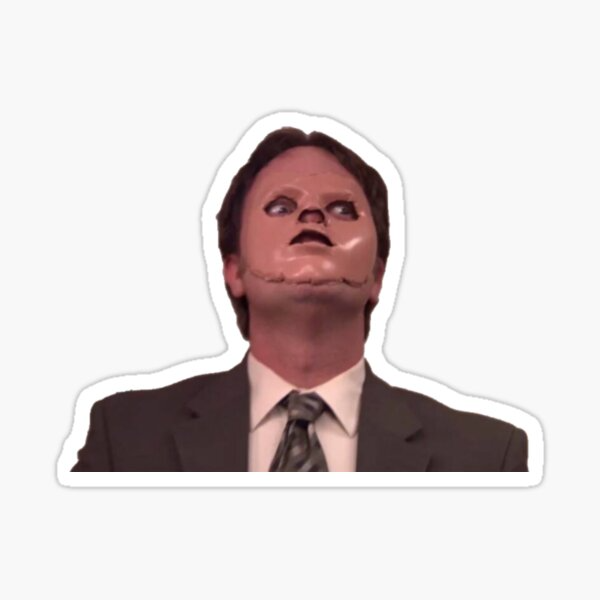 Dwight Schrute Cpr Sticker By Masoncarr2244 In 2021 The Office Stickers Funny Stickers Dwight Schrute