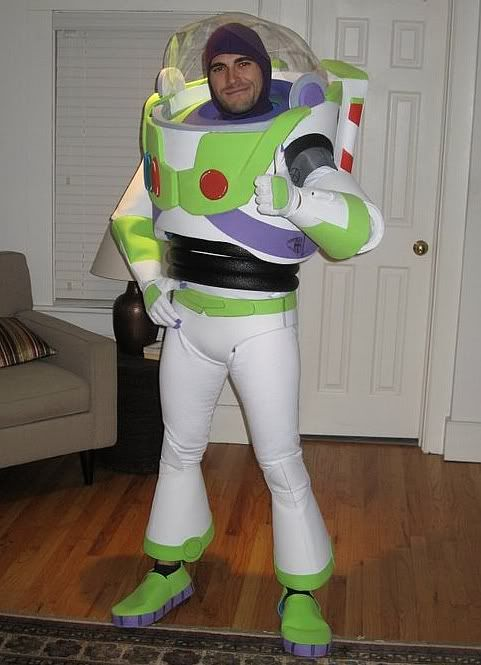 Not see Adult buzz costume lightyear