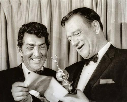 Dean Martin & John Wayne   . King of Cool   Dean martin ...