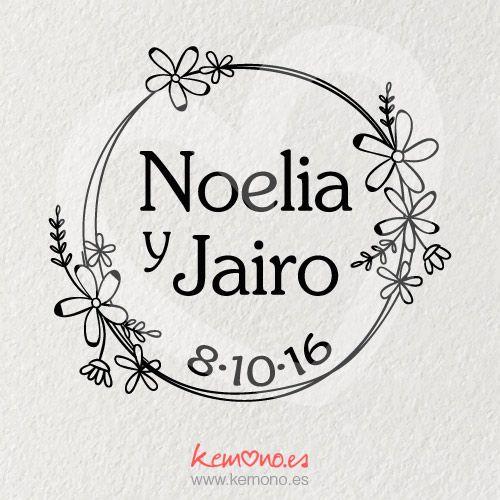 Sello Boda. Floral | Boda | Pinterest | Wedding y Flowers