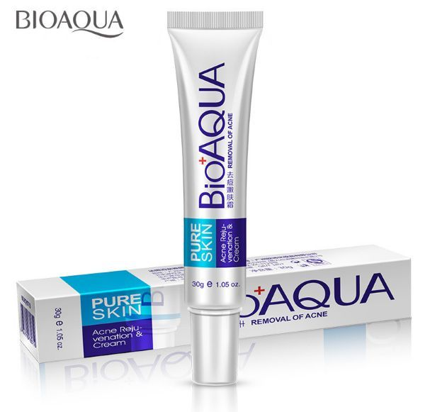 860e7849ec6c16 Amazing BIOAQUA acne scars cream Product efficacy:  Acne,anti-Acne,anti-wrinkle,pulling compact, skin nourishing, moisturizing,  remove scar, shrink pores, ...