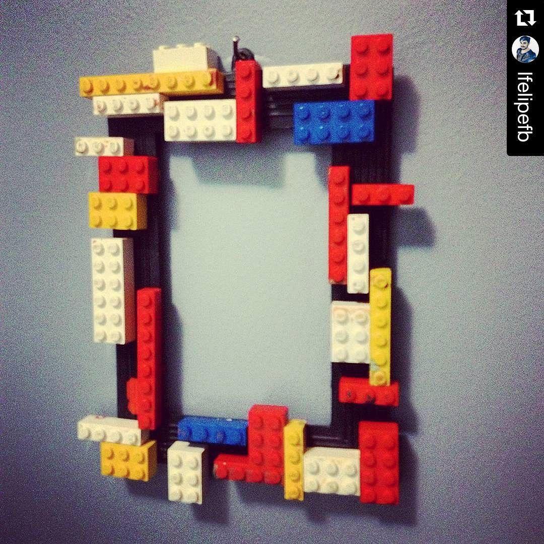 #Repost @lfelipefb ・・・ Moldura/frame by me. Em breve postarei como ficou a mudança que fiz no meu quarto. . #DIY #diyideas #decoration #decoração #moldura #Lego #interiordesign #interiors #frame #euquefiz #cool #destjil #homensdacasa