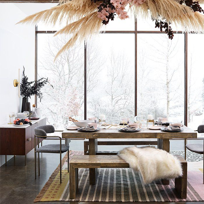 Sala De Jantar Rustica Reclaimed Wood Dining Table Home Decor Dining Room Design