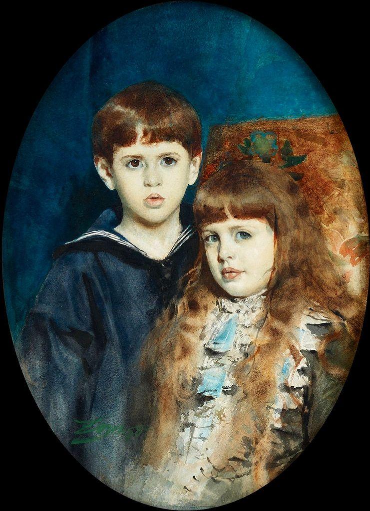 """Résultat de recherche d'images pour """"les enfants par anders zorn"""""""