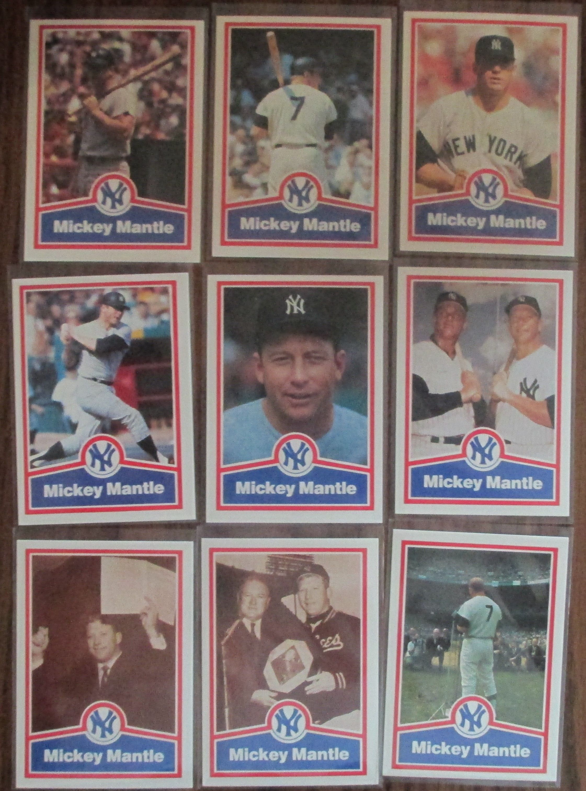 CMC Set Mickey mantle, Baseball cards, Sports cards