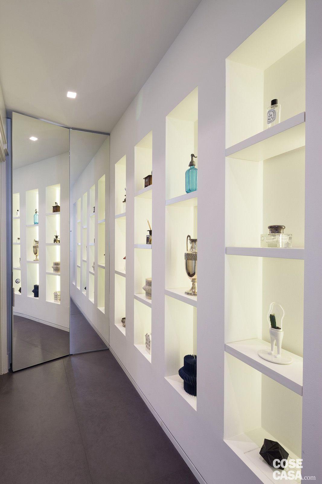 Distribuzione Spazi Interni Casa.108 Mq Con Nuove Divisioni Loft S And Penthouses Cartongesso