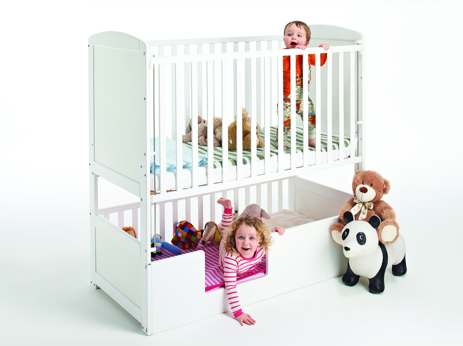 Now Available In Australia The Convertible Bunk Cot Developed In The Uk For Children 0 6 Years 2 Bunk Cots 1 Cot Baby Bunk Beds Baby Cribs Toddler Bunk Beds