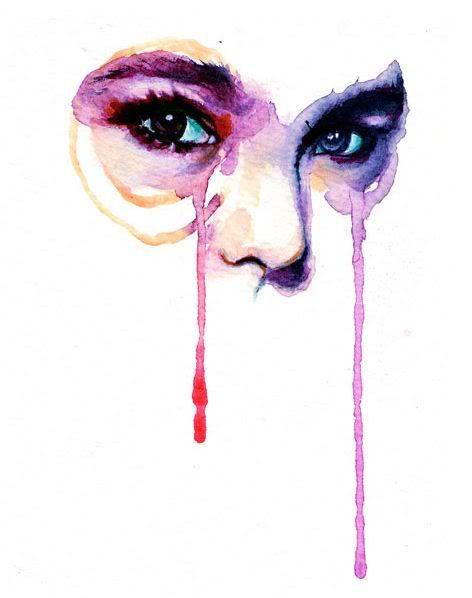 Marion Bolognesi  #eyes #watercolor #watercolour
