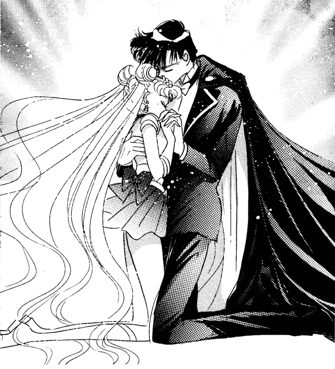 Sailor Moon And Tuxedo Mask I Know, I Know. Leave Me Alone