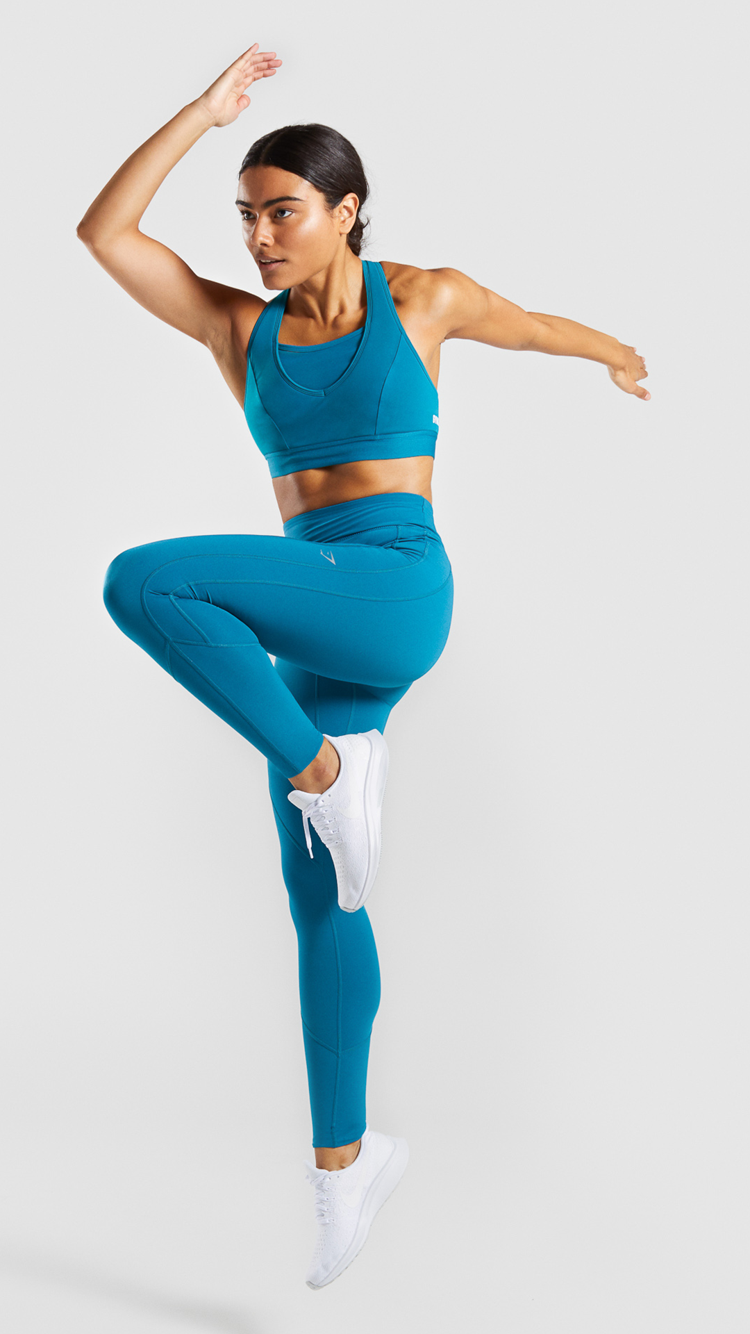 0be7e0d65c4405 Moulding padded interior and elasticated fabrics allows for all the support  you could ever need and all the style you could ever want. #Gymshark  #Womens ...