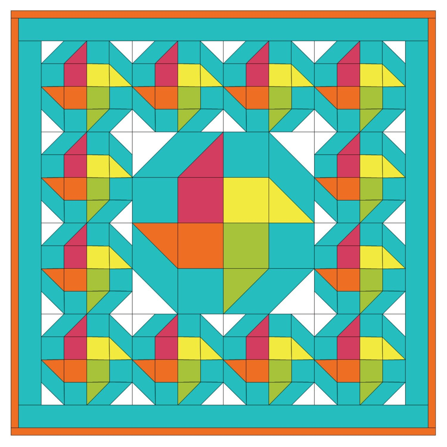 Studio Table Topper Twister Quilt Pattern- Free (PQ10236i) | nbaby ... : parallelogram quilt pattern - Adamdwight.com