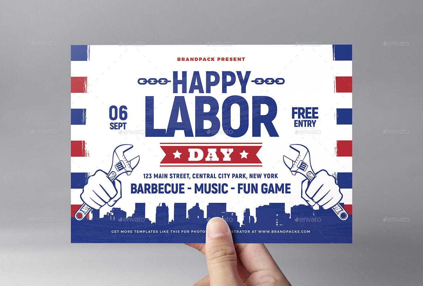 Labor Day Flyer Templates Flyer Template Double Sided Flyer Rack Card Templates Free labor day flyer template