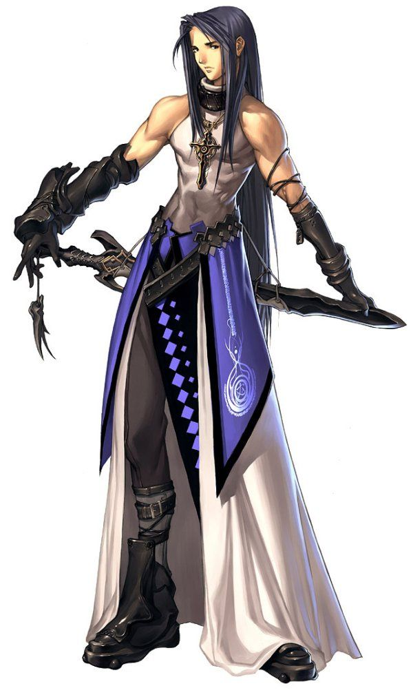 Anime Character Design Creator : Anime male assassin master character creator status