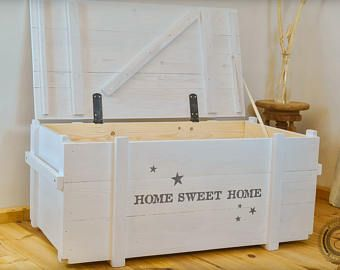 Image Result For Farmhouse Storage Bench