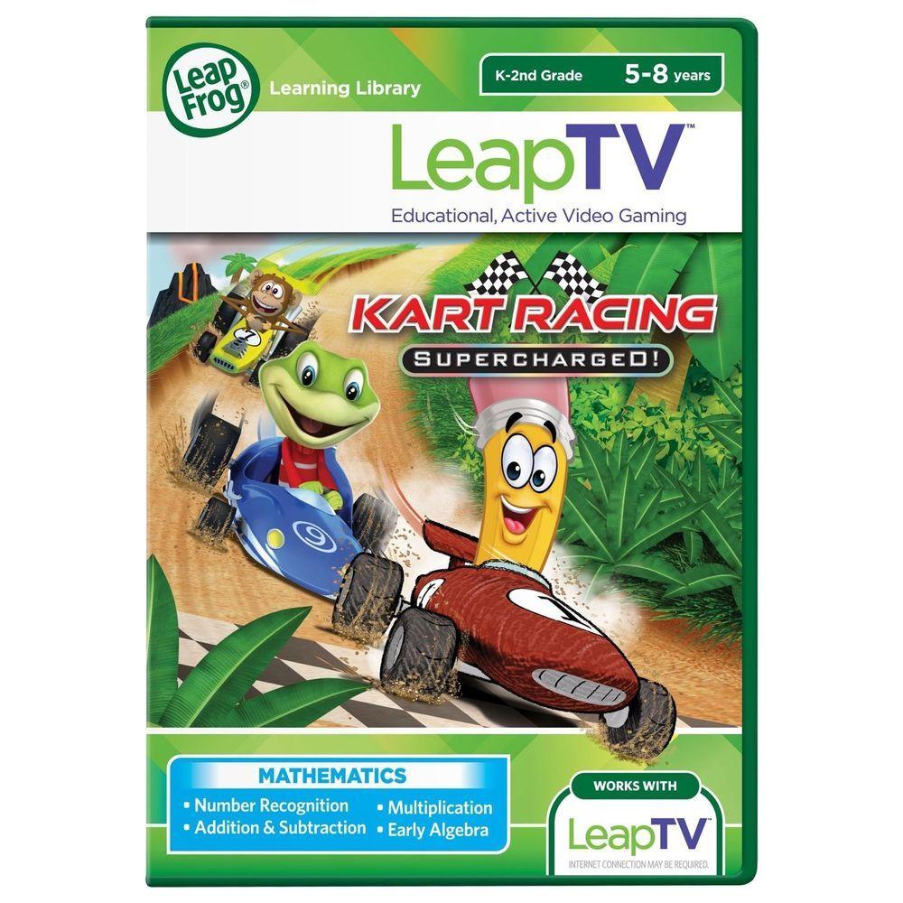 LeapFrog LeapTV Kart Racing Supercharged! Educational