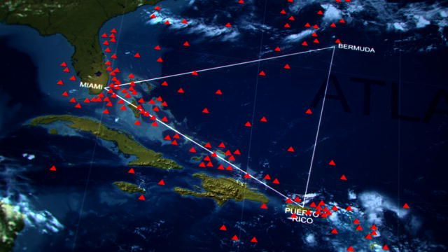 The Mysterious Bermuda Triangle Le Triangle