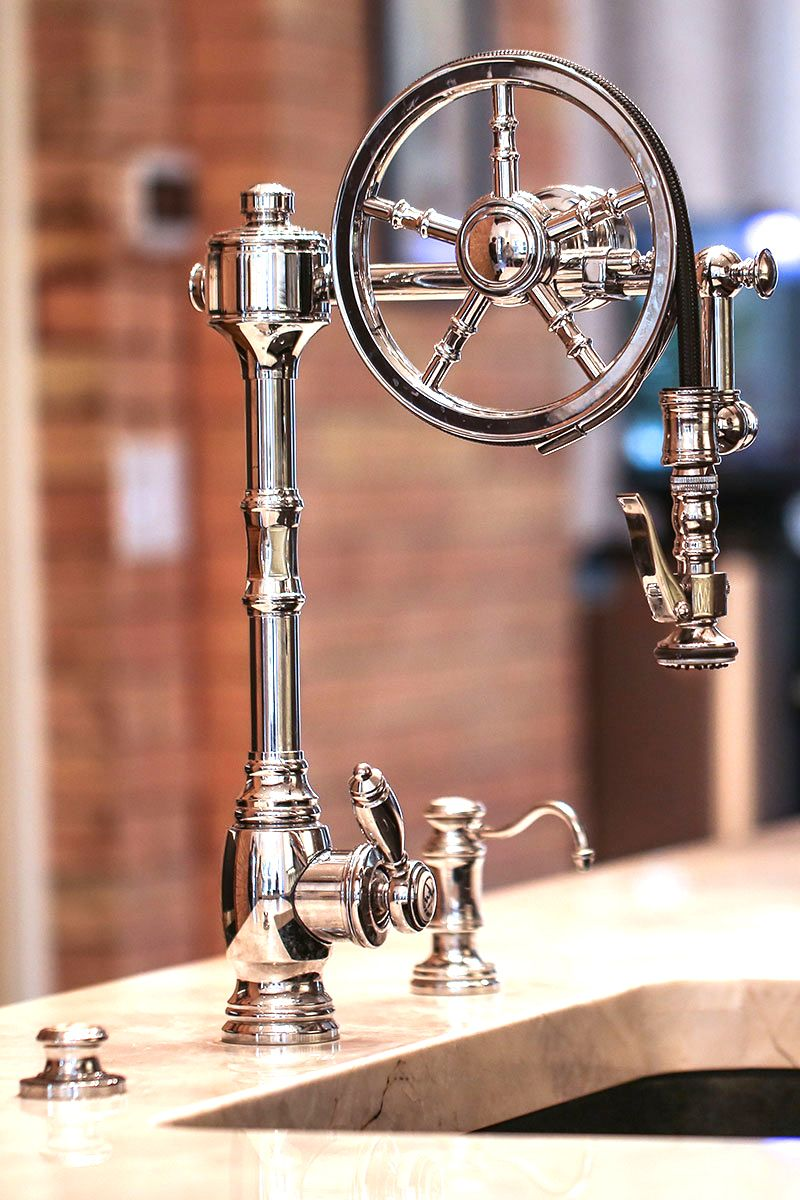 Waterstone Wheel Pulldown Faucet 5100 (With images