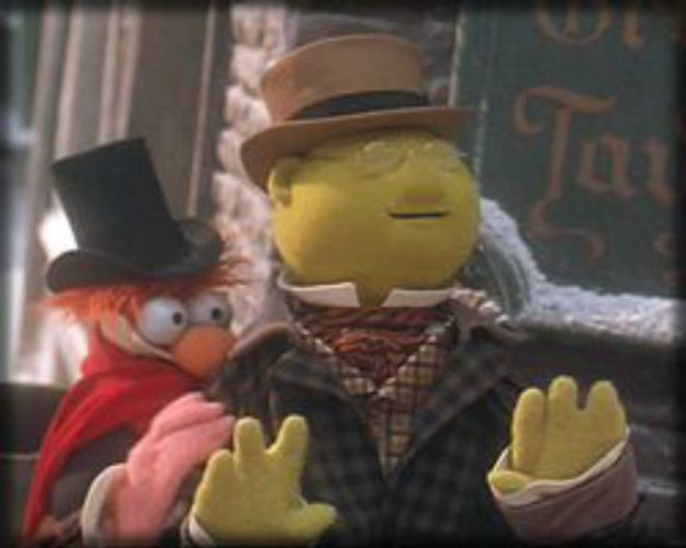 The Muppet Christmas Carol Trailer.Outragged Beaker Christmas Christmas Carol Xmas Carols