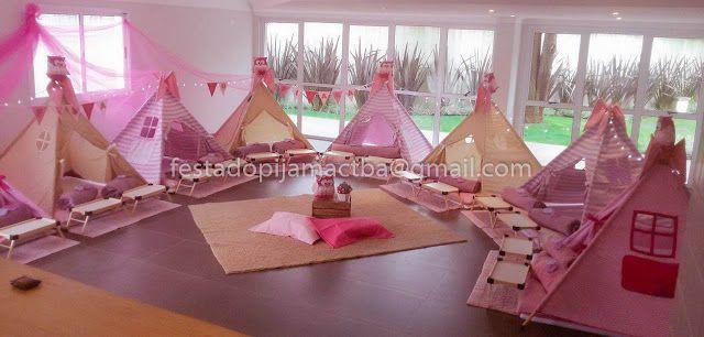 Festas do Pijama TOP em Curitiba e região