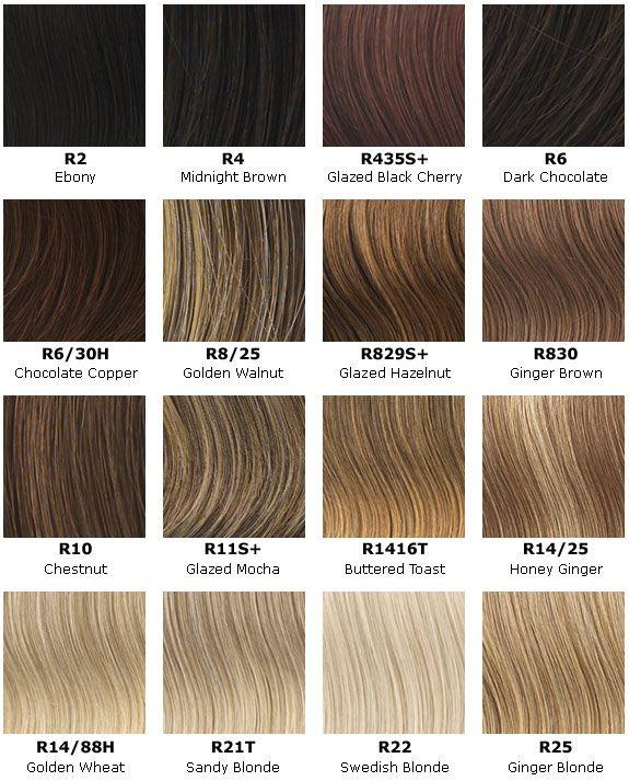 Hair Color Chart Hair Makeup Pinterest Hair Hair Color And