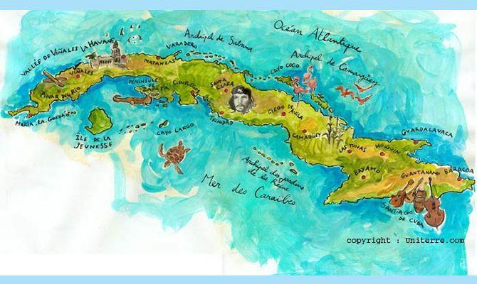 Carte Cuba.Carte Cuba Carte Cuba Cartes En 2019 Carte Cuba Cuba