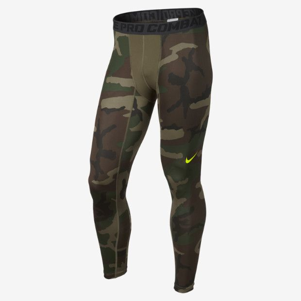 best service 34eef fb904 Nike Pro Combat Core Compression Camo Men s Tights