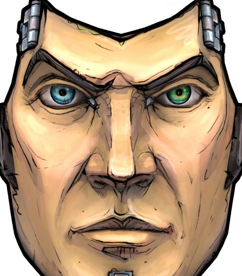 Handsome Jack Mask Borderlands 2 Handsome Jack Handsome
