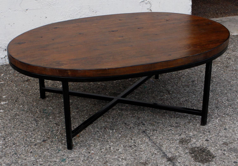 Retro Oval Coffee Table