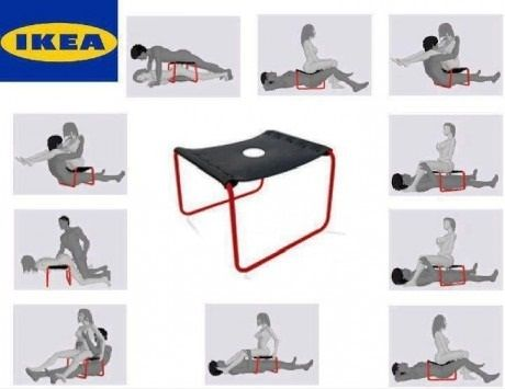 GAGBOX Sex Chair from IKEA Sexy or Naughty – Sex in the Chair