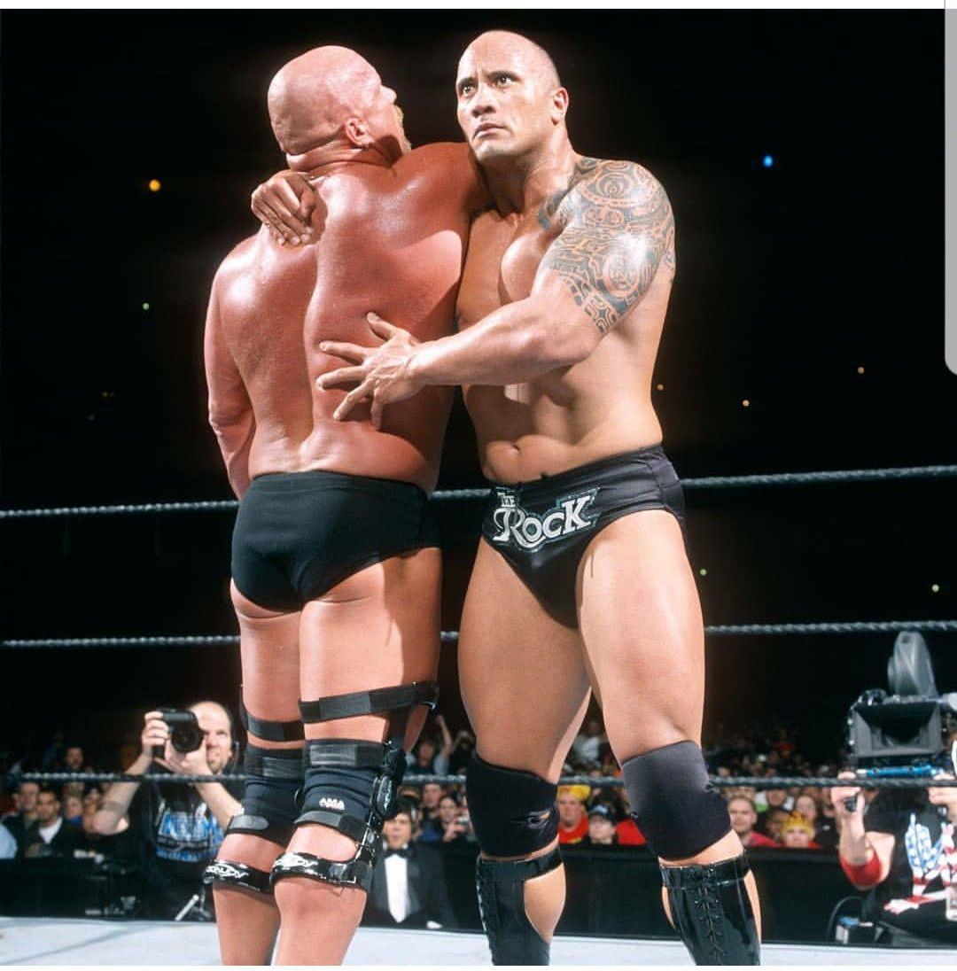 The Rock Vs Stone Cold Steve Austin Wrestlemania 19 The Rock Pro Wrestling Wrestlemania 19