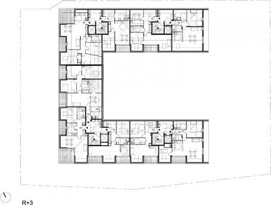 34 Social Housing Units In Bondy / Atelier Du Pont   Architecture ...