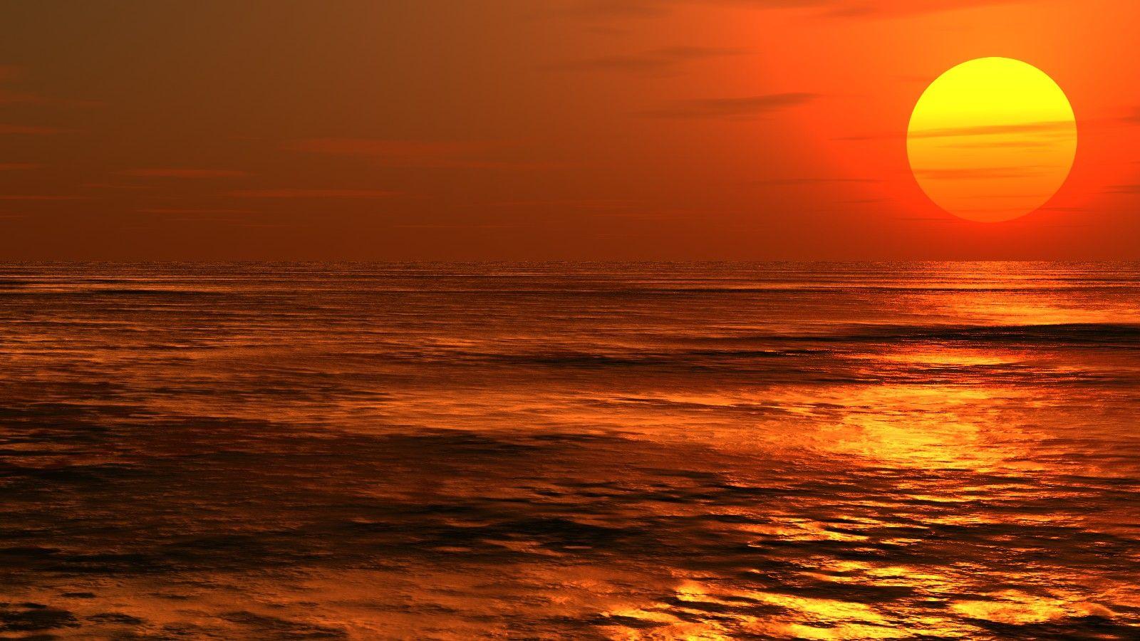 مناظر طبيعية خلابة لغروب الشمس Celestial Outdoor Sunset