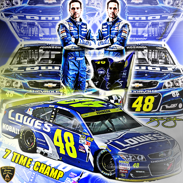 I Hope Everyone Enjoys This Awesome Jimmie Johnson Wallpaper I Created Took Me A While To Make This The Way I Wanted So I Hop Black Lightning Nascar Johnson