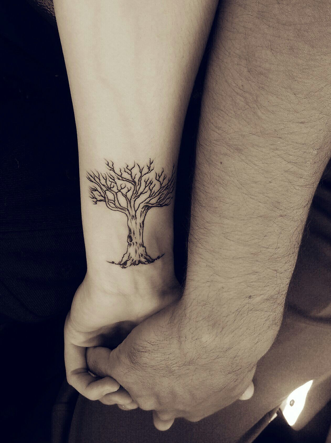 Oak Tree Tattoo...from little acorns great oak trees grow