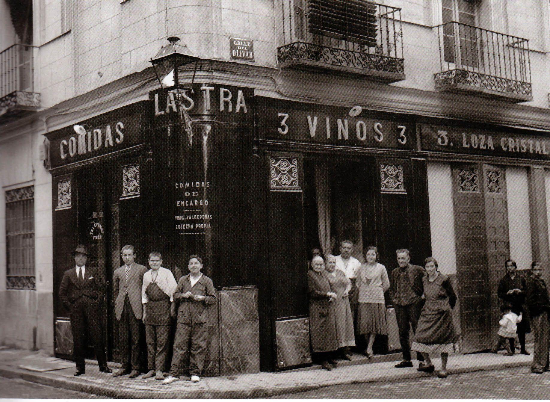 Casa de comidas lastra en la calle olivar 1921 santos - Calle torrente valencia ...