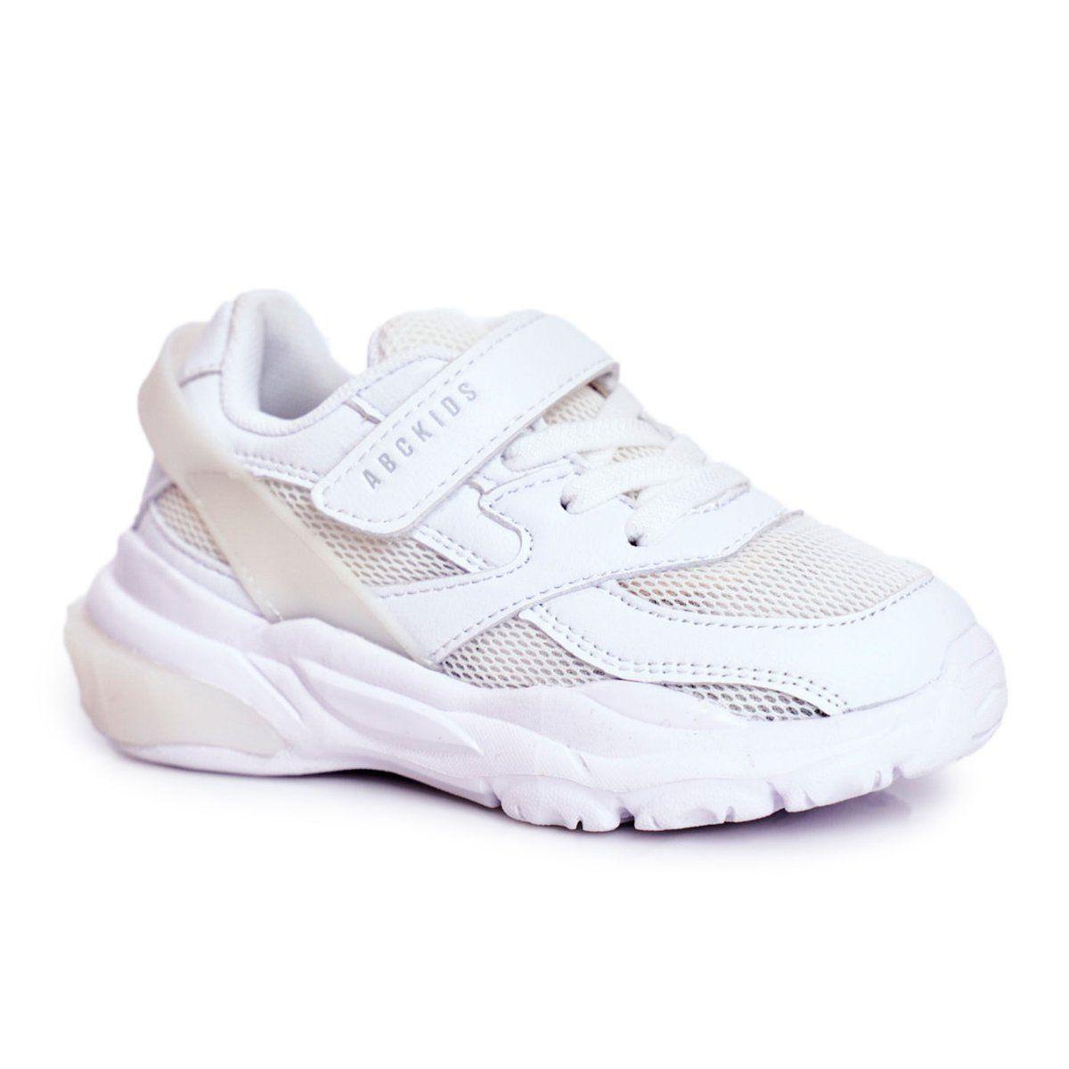Buty Sportowe Obuwie Dzieciece Dzieci Abckidspolandsp Zo O Abckids Poland Sp Z O O Sportowe Buty Dzieciece Biale Abckid In 2020 Shoes Sneakers Fashion