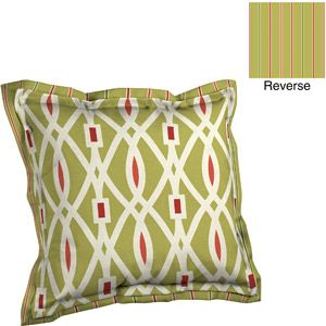 Better Homes And Gardens Deep Seat Pillow Back With Flange Outdoor Cushion,  Outdoor Lattice