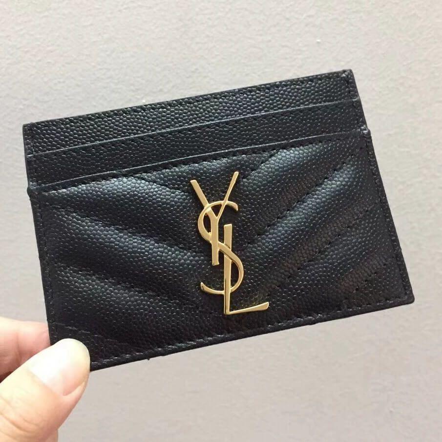 sneakers for cheap f060f e0acc Saint Laurent Card Case 100% Authentic 80% Off    Saint Laurent ...