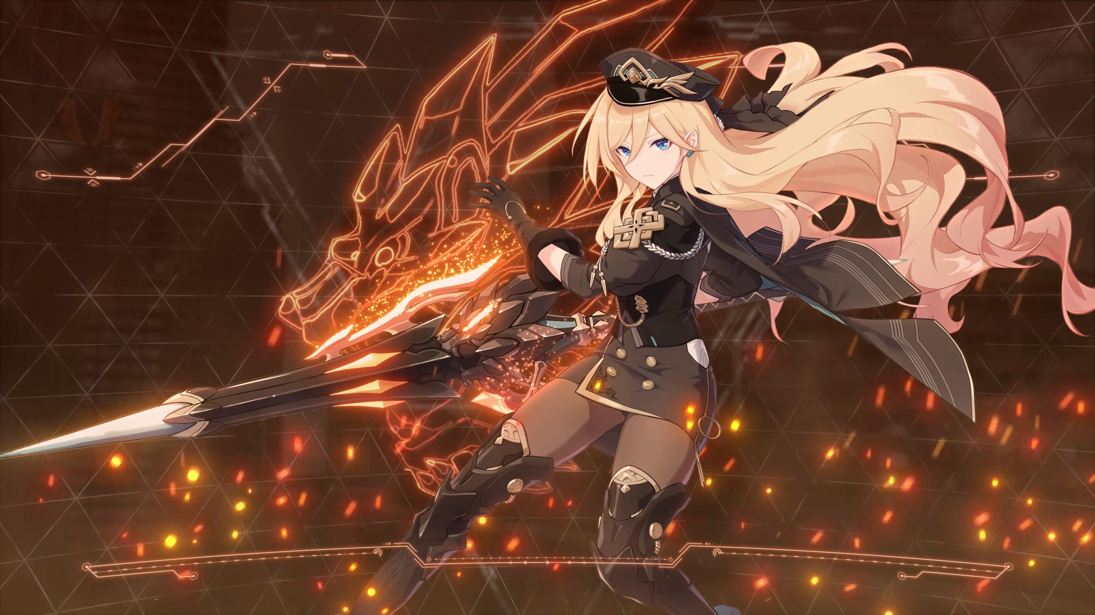 As someone who spends hours fiddling with the flashing rgb components in my computer,. Honkai Impact 3 - Valkyrie Gloria Durandal 4K [Wallpaper ...