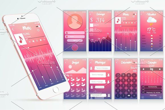 Application Interface Design  @creativework247