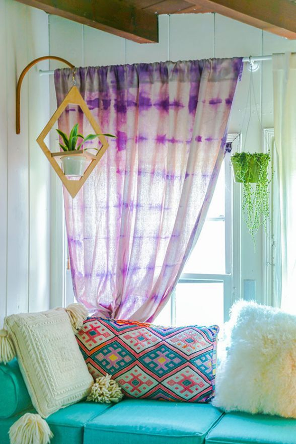 10 Tie-Dye Projects that Won't Make You Look Like a Hippie   6. Curtain Call