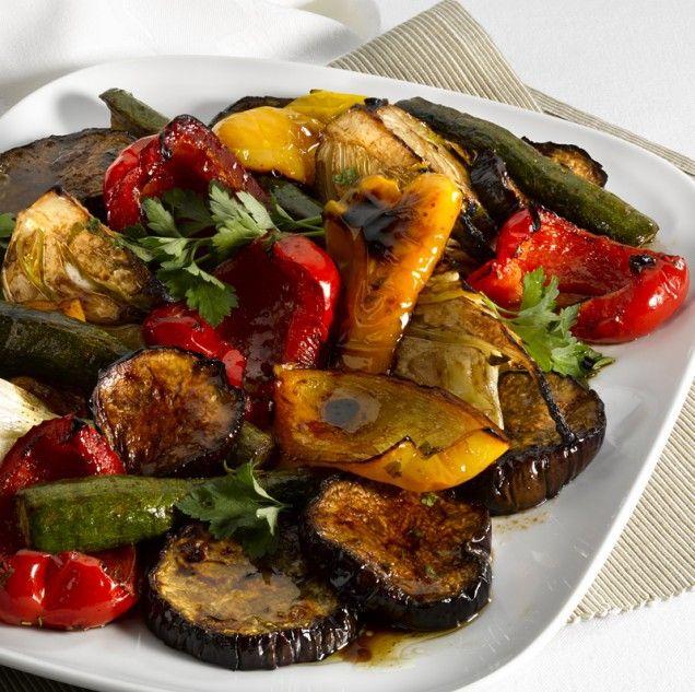 Grilled veggie goodness
