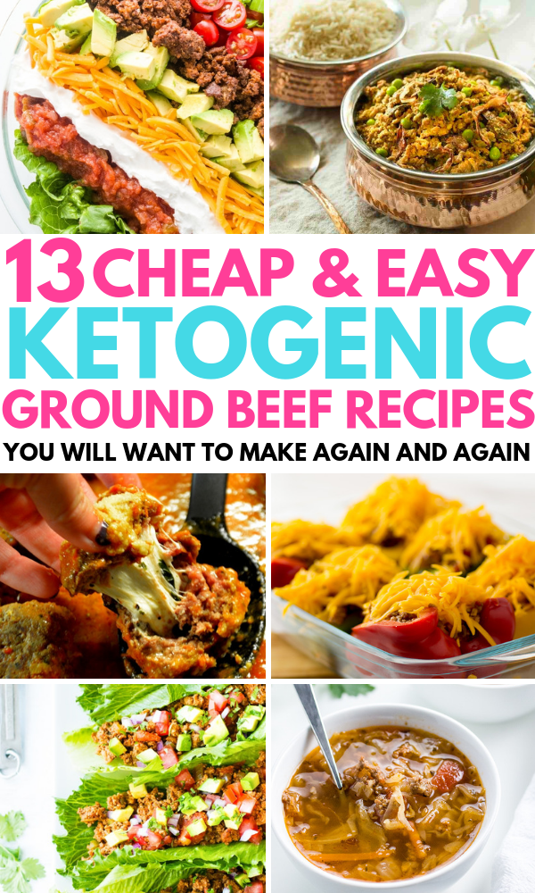 13 Keto Ground Beef Recipes That Are Too Delicious To Resist Ground Beef Recipes Ground Beef Keto Recipes Recipes