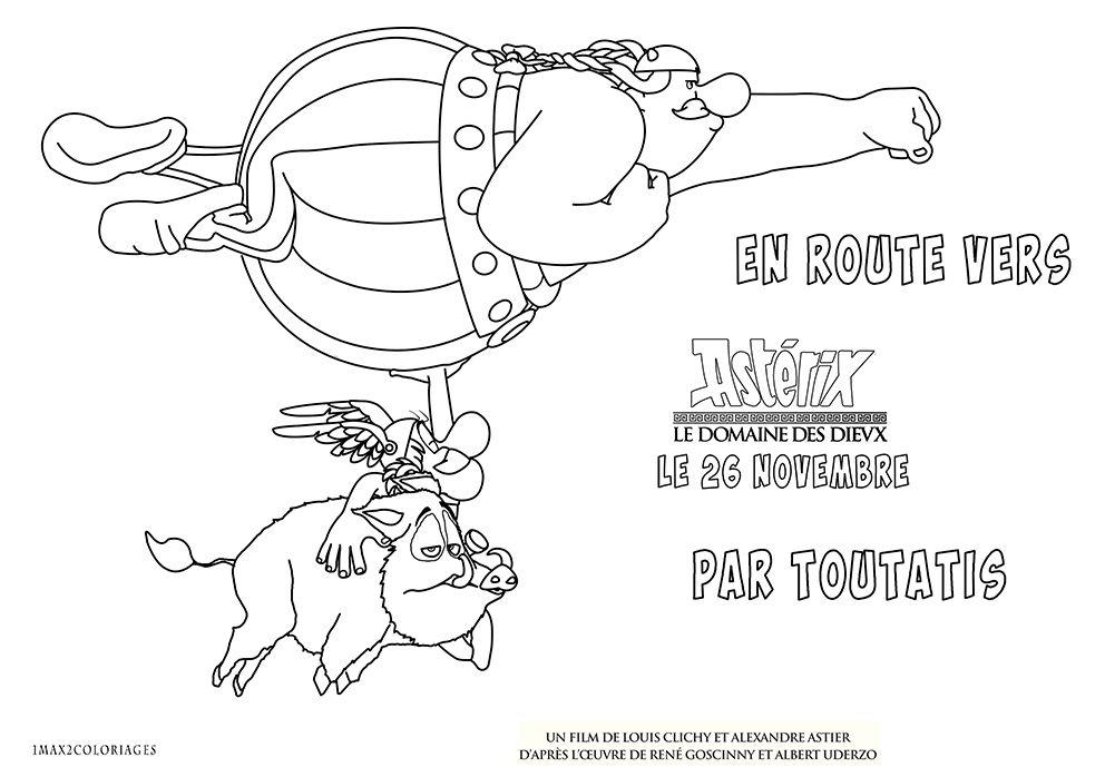 Coloriage asterix et obelix grande image un max de - Dessin de asterix ...