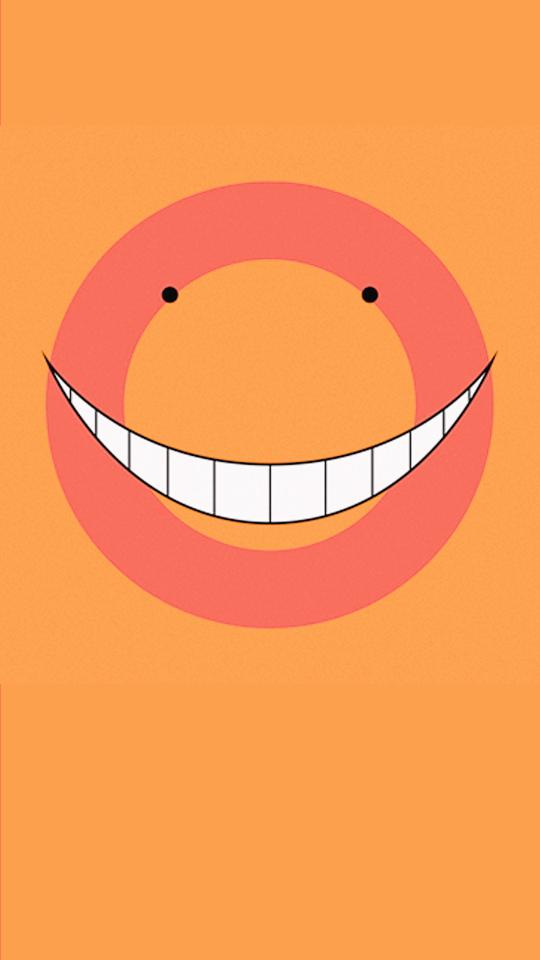 S P I R I T I O N Assassination Classroom Wallpapers Koro Sensei Face Assassination Classroom Anime Wallpaper